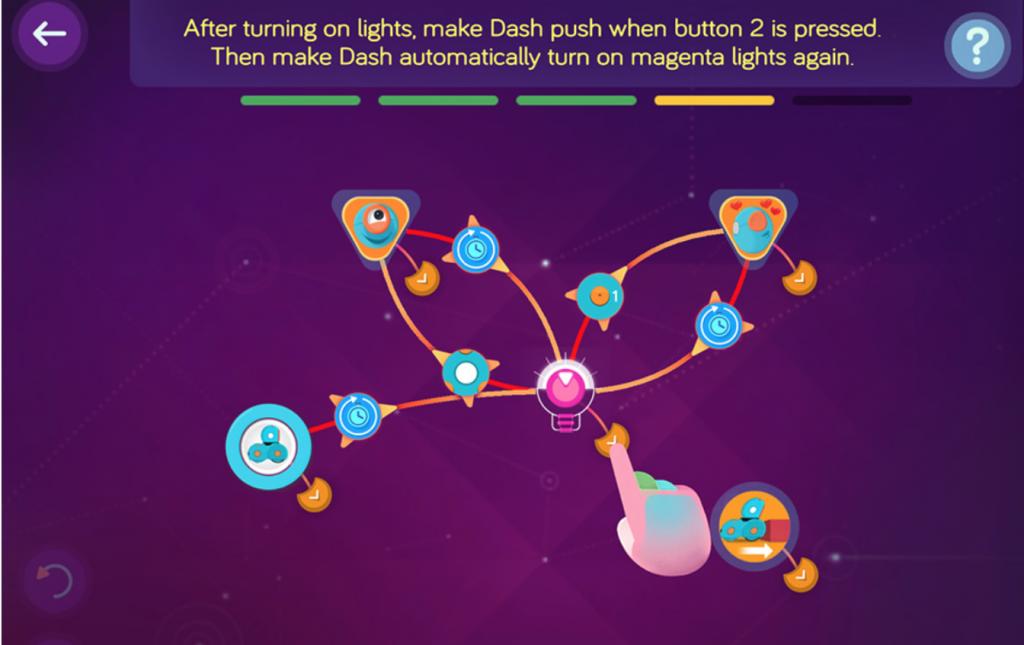 Dot-Roboter-App Wonder - Roboter programmieren lernen leicht gemacht