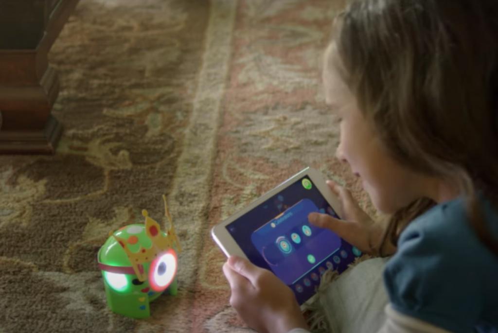 Dot-Roboter von Wonder Workshop - Programmierung über Tablet-App