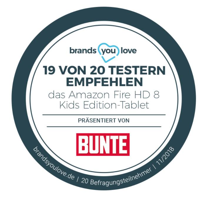 Auszeichnung Fire HD 8