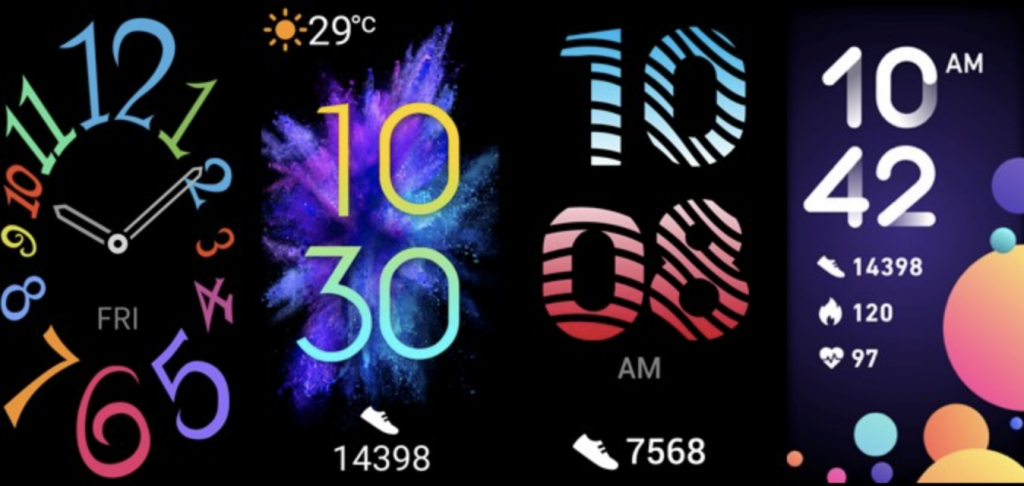 Ziffernblätter für Huawei-Fitnessuhr