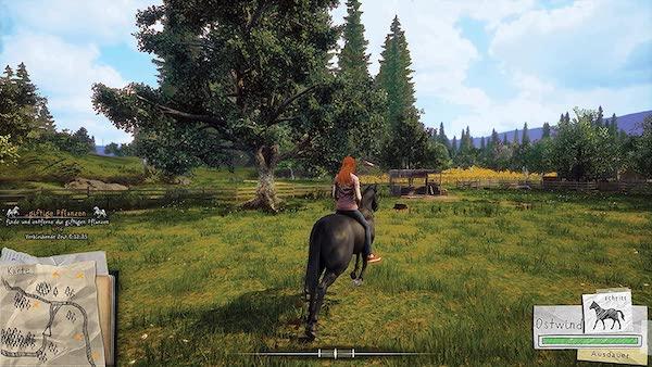 Ostwind für die Nintendo Switch - Schöne Natur und Pferdeaufgaben begeistert Mädchen