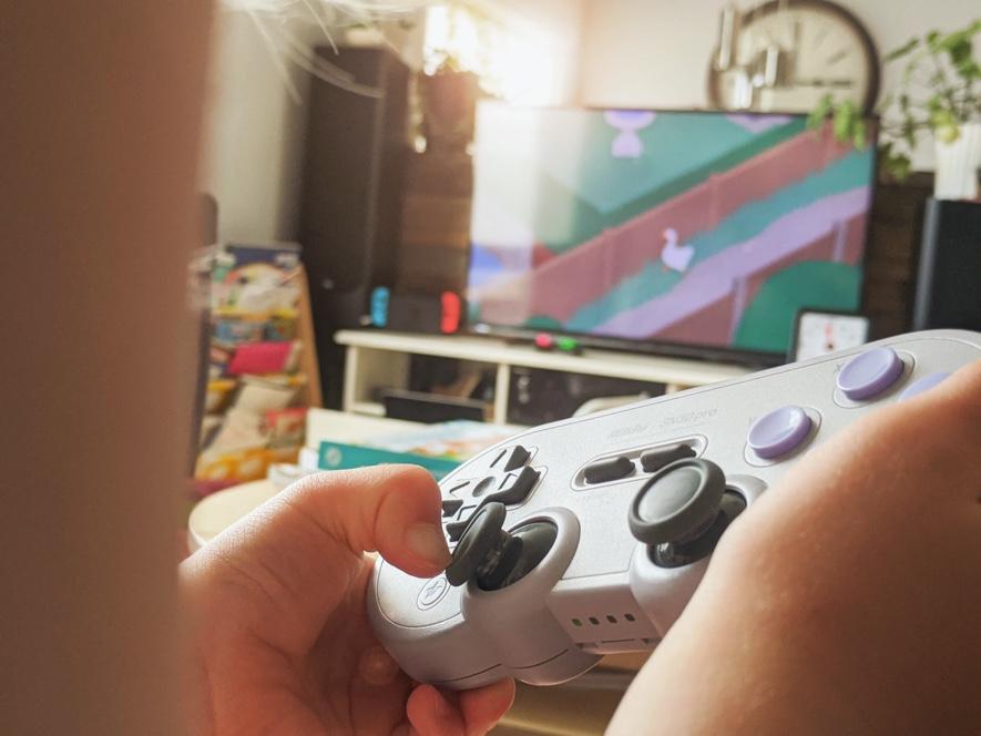 Spielekonsole für Kinder